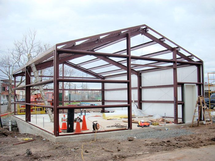 steel frame house google