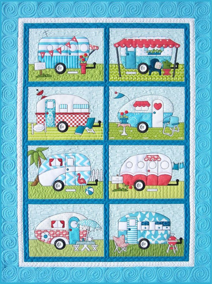 19 best Quilts Camping images on Pinterest | Babies, Centerpieces ... : camping quilt - Adamdwight.com