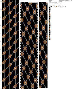 Фотографии Рисуем схемы для жгутов из бисера, вышивки и др.