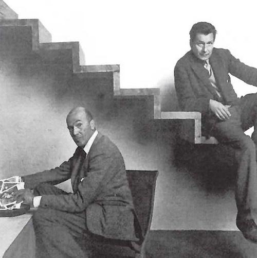 Luis Barragán y Mathias Goeritz, 1957 GENIOS!