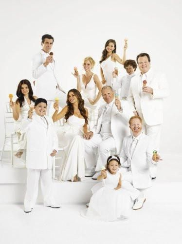 Modern Family poster Metal Sign Wall Art 8in x 12in