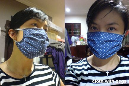 The lastest fashion accessory : The Face Mask.  It's hitting the streets and jet-setters alike ...  It is definitely not fun in these times ...