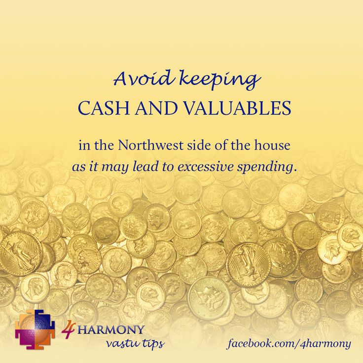 Avoid excessive spending of money with this practical vastu tip.