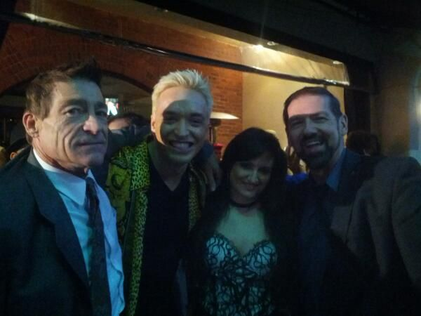 @MusicAwards with #BuddyPrinceton #Kuba and #VickiLiziddy #BeverlyHills