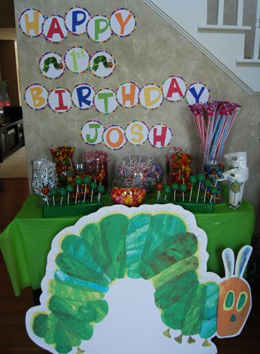 Hungry Caterpillar Theme Party