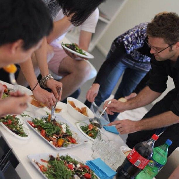 Coworking Lunch at the Protein Studio http://instagram.com/p/aw1BH2DagT/