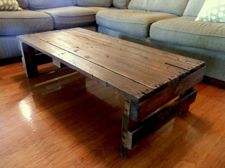 Upcycled Shipping Pallet Coffee Table Shipping Pallets Furniture And Diy And Crafts
