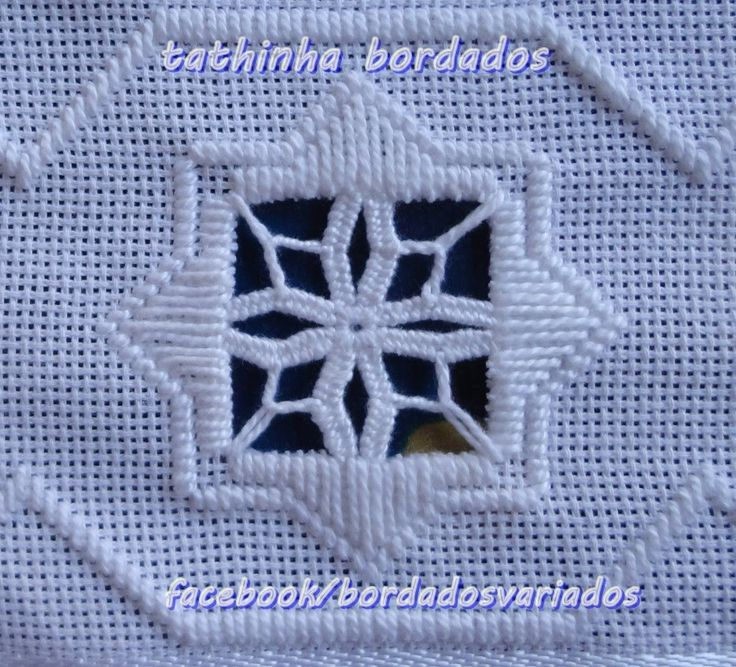 HARDANGER.......I have pieces of this work from my grandmother.  Now I know what its called.  Can't wait to try it.