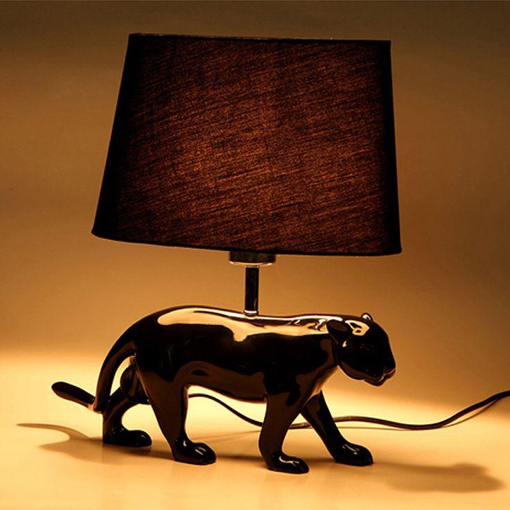 lampe poser design en r sine avec abat jour en tissu hauteur 30 cm doggy hauteur abat jour. Black Bedroom Furniture Sets. Home Design Ideas