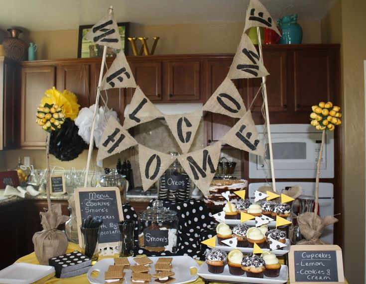 welcome home party ideas | Welcome Home Party @ How Sweet It Is