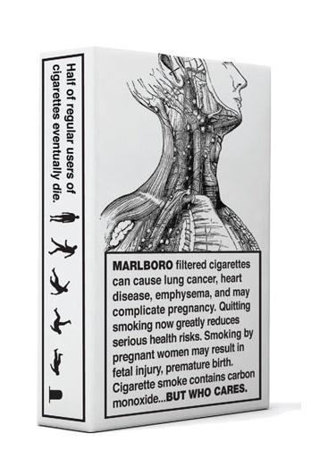 DJ Stout's cigarette packages