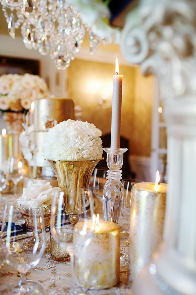 Gold Tablescape Royal Wedding Inspired By Courtenay Lambert Florals