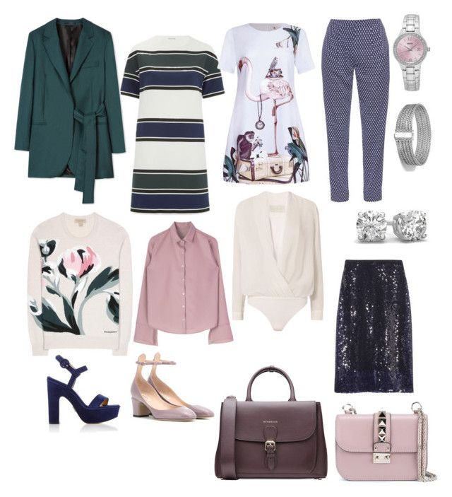 """""""Capsule 2"""" by dariamedvedeva on Polyvore featuring Wood Wood, Paul Smith, Burberry, Dion Lee, Valentino, Michelle Mason, Diane Von Furstenberg, Seiko and John Hardy"""