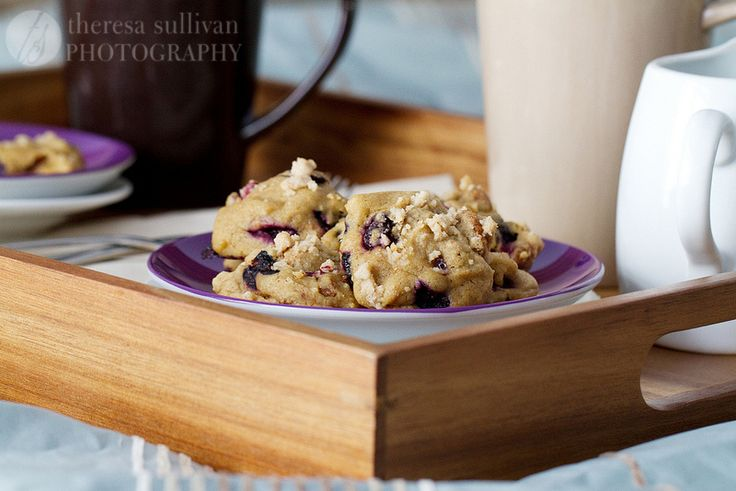 Blueberry Crumb Muffin Cookies - from the Craving Chronicles
