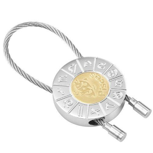R&B Schmuck Unisex Schlüsselanhänger - Fische Sternzeichen (Silber, Gold): 12,90€