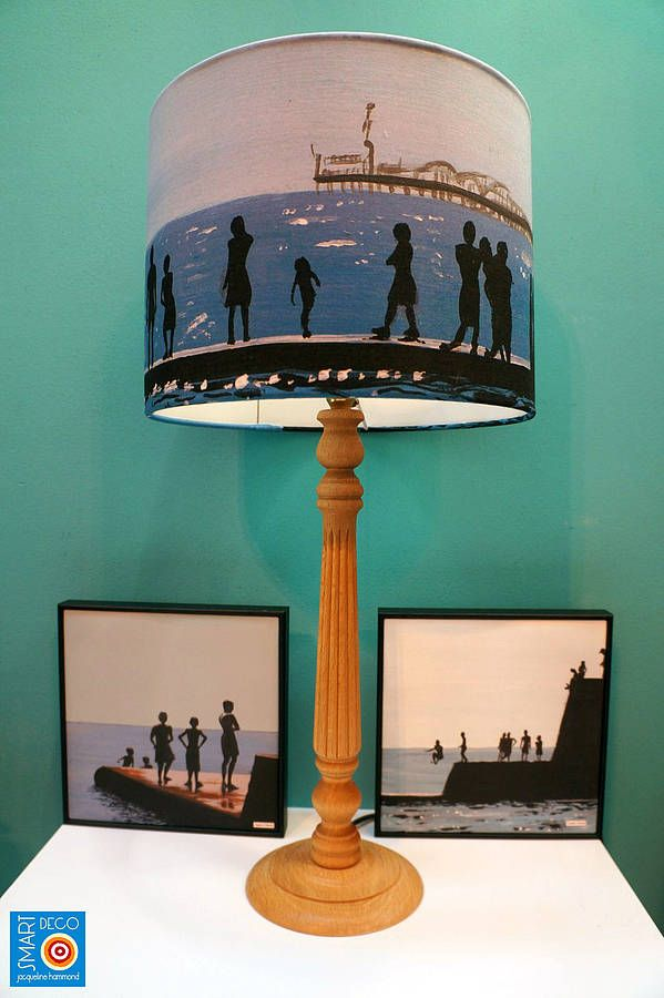 Are You Interested In Our Blue Fabric Drum Lampshade? With Our Seaside  Summer Print Lamp Shade You Need Look No Further.