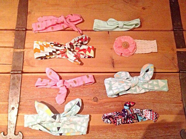 Handmade knit headbands by SewFab3 on Etsy