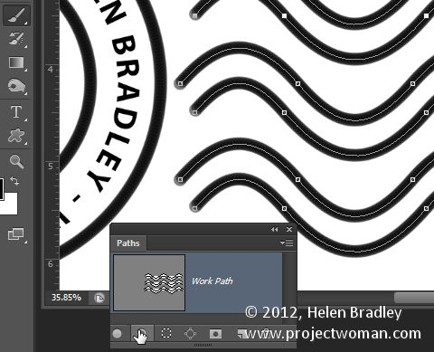 how to create a watermark in photoshop cc