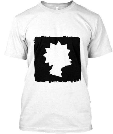 Silhouette (Black)  Enjoy this silhouette t-shirt of Lisa Simpson! Show off your appreciation of the iconic TV shows. Especially those supper FAN!!!