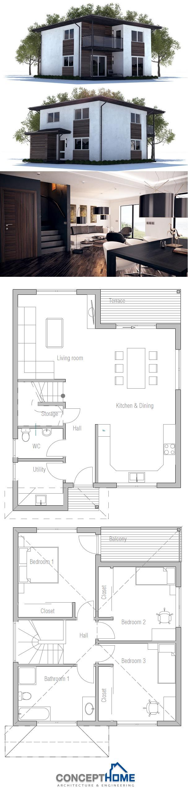 Small House Plan, AFFORDABLE TO BUILD