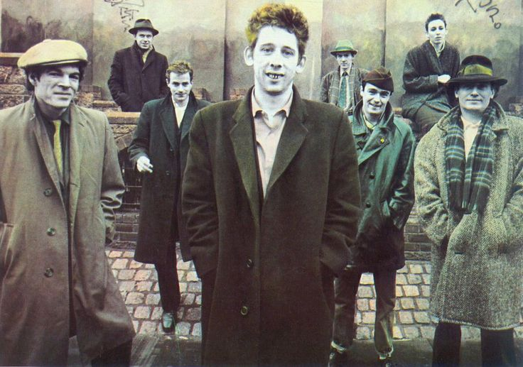 The Pogues. Dirty Old Town...so good.