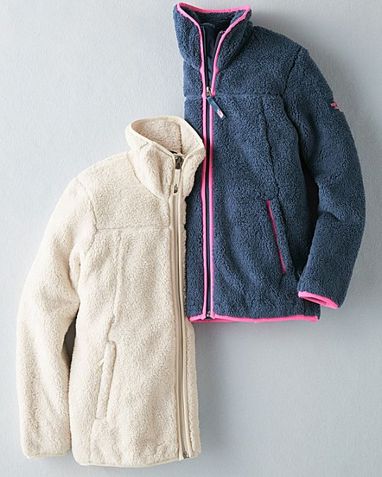 a3f19c1b102 The North Face® Campshire Full-Zip Fleece Jacket - Girls | Kids ...