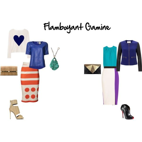 """flamboyant gamine- evenings out"" by britt-galbraith on Polyvore"