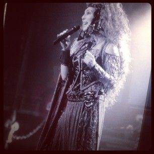 Cher - Dressed to Kill Tour Photo #Cher #voice