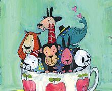 A zoo in a cup by tomonori-taniguchi.com