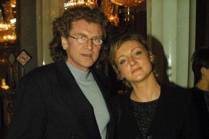 Zbigniew Wodecki z żoną