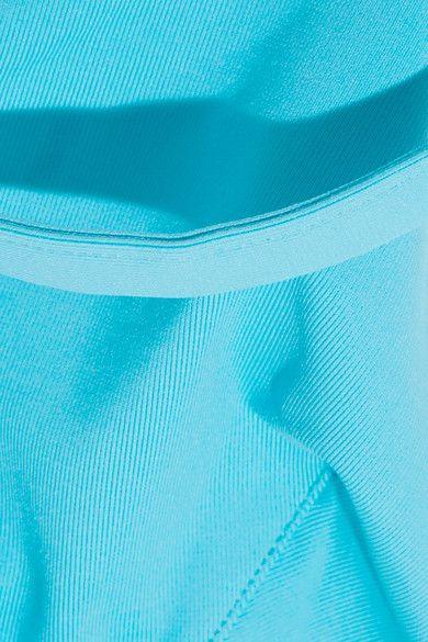La Perla - Plastic Dream Pvc-trimmed Bikini Top - Turquoise - 2C