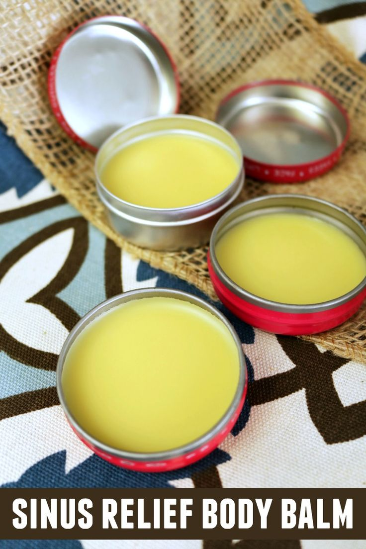 Are you searching for a natural way to clear up your sinus? We'll show you how to make a natural sinus relief body balm that works wonders. It's easy too!