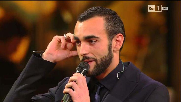 """Marco Mengoni canta """"Io che amo solo te"""" - Sanremo 2014"""