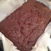 Kimberly Roberto, co-author of the Maximized Living Nutrition Plans Advanced and Core Plan, makes 18-24 brownies  This recipe is nothing short of amazing. They taste and look just like traditional brownies but these are actually nutritious and loaded with protein due to the almond butter a