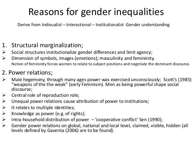 gender inequality within society essay Social inequality in society social inequality influences all aspects of our lives the following essay will look at evidence highlighting inequalities in society today in particular it will focus upon inequalities found between men and women, referred to as gender inequality additionally it will.