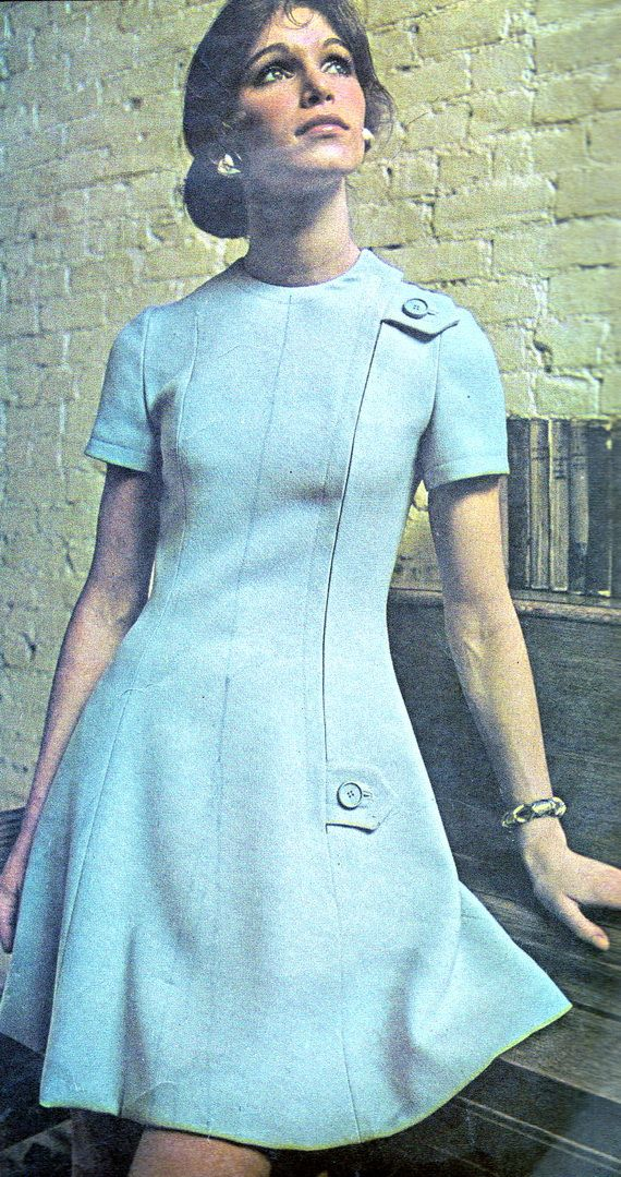 1970s Dress Pattern McCalls 2443 Day or Evening Mod by paneenjerez, $14.00