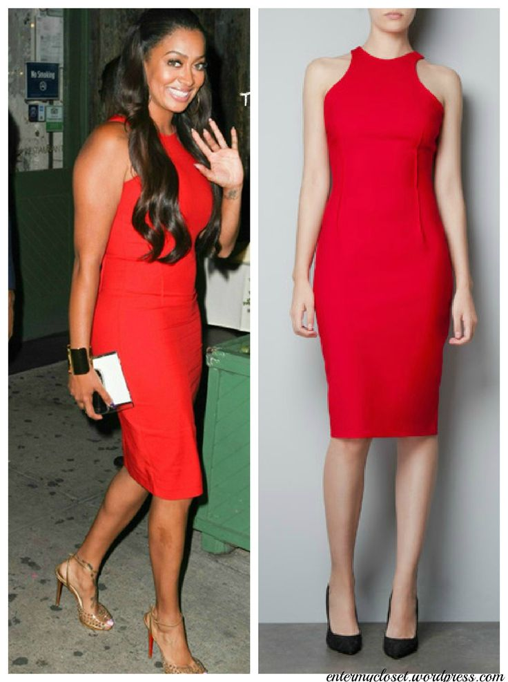 Look for Less: Lalas red dress