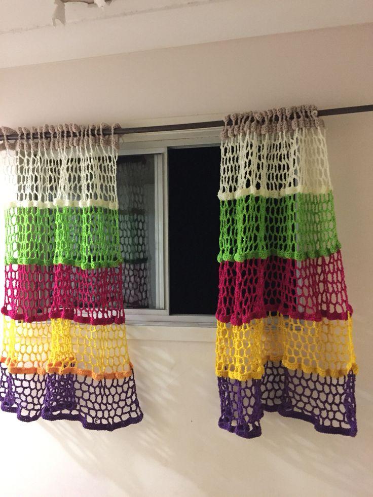 25 Unique Crochet Curtains Ideas On Pinterest Diy