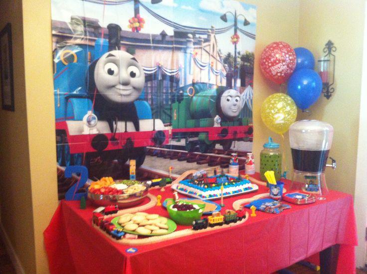 Wegmans Train Cake
