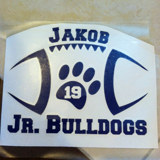 New car decal