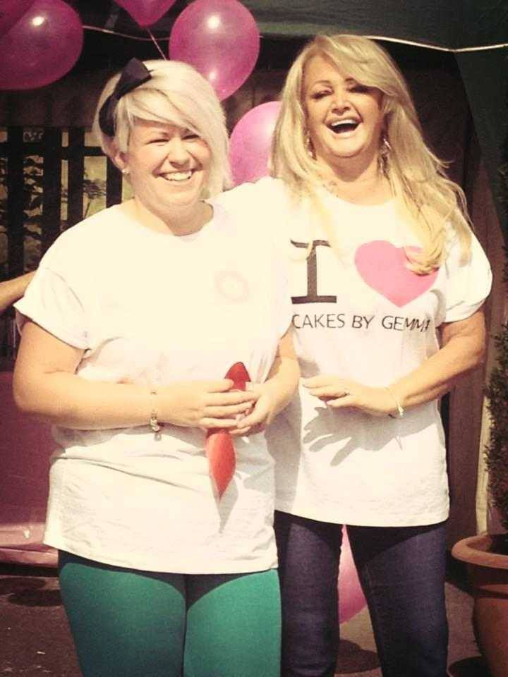 Grand Opening of Cakes By Gemma Brooks, 10/09/13 #BonnieTyler #CakesByGemma #SouthWales
