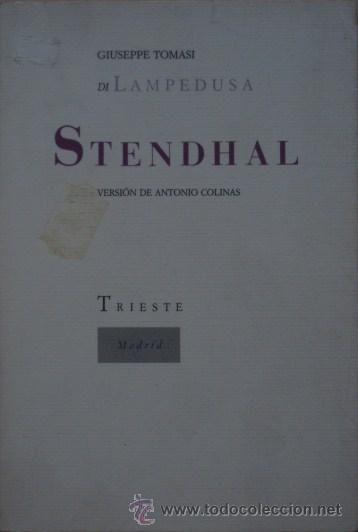 A mediodía hablamos de la vida de Stendhal.