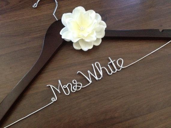 DIY Wedding Hangers
