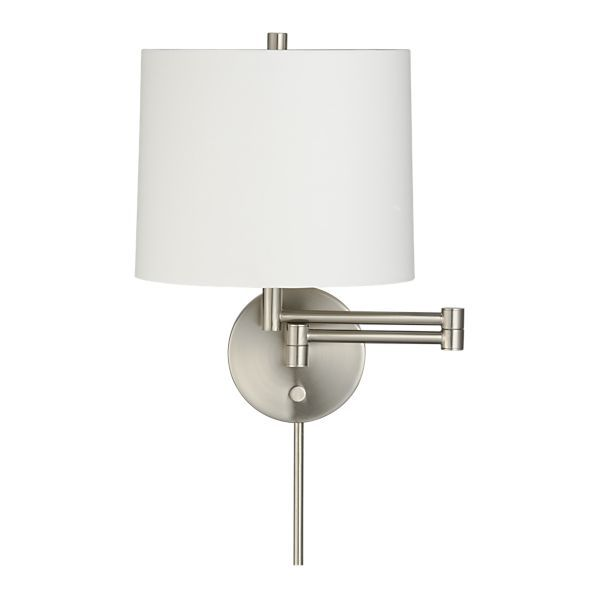 Swing Arm Wall Sconces For Bedroom : Best 25+ Bedroom sconces ideas on Pinterest Sconces, Wall lights and Wall sconce bedroom