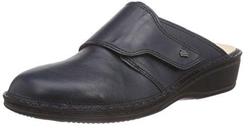 Finn Comfort Aussee, Damen Clogs, Blau (Darkblue), 43 EU - http://on-line-kaufen.de/finn-comfort/43-eu-finn-comfort-aussee-damen-clogs-3
