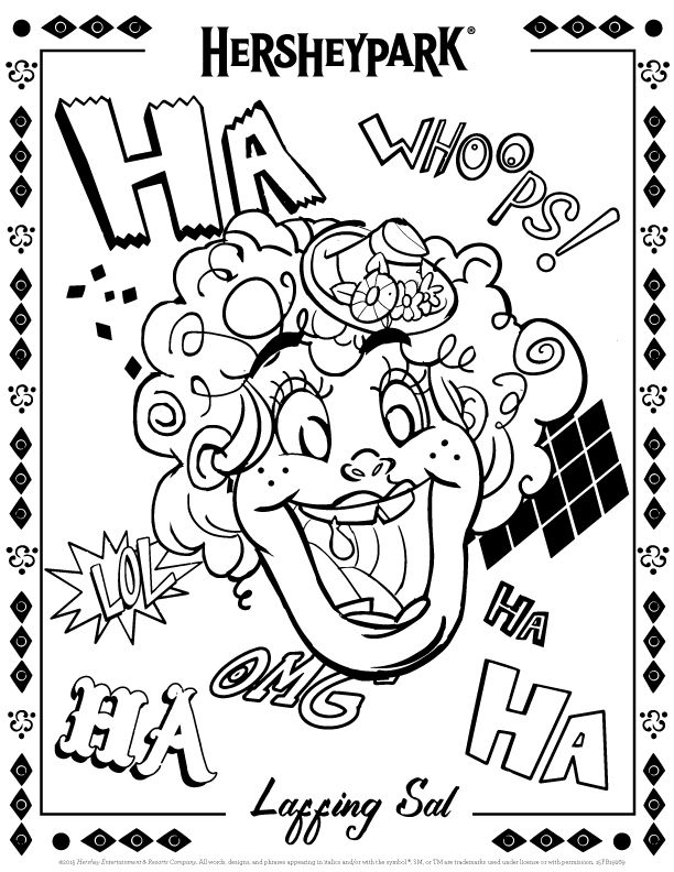 hershey coloring pages for kids - photo#15