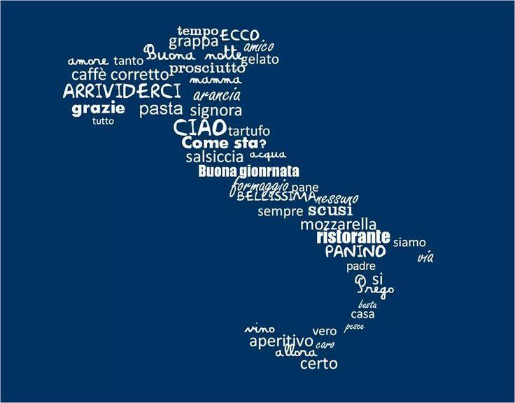 Italian words #studyabroad #sorrento www.santannainstitute.com