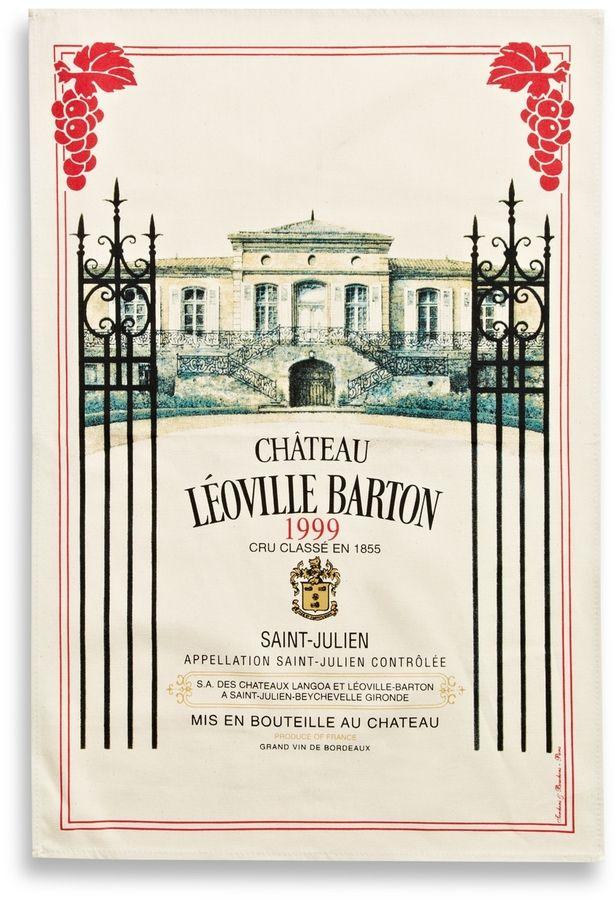 Torchons & Bouchons Leoville Barton Bordeaux Tea Towel