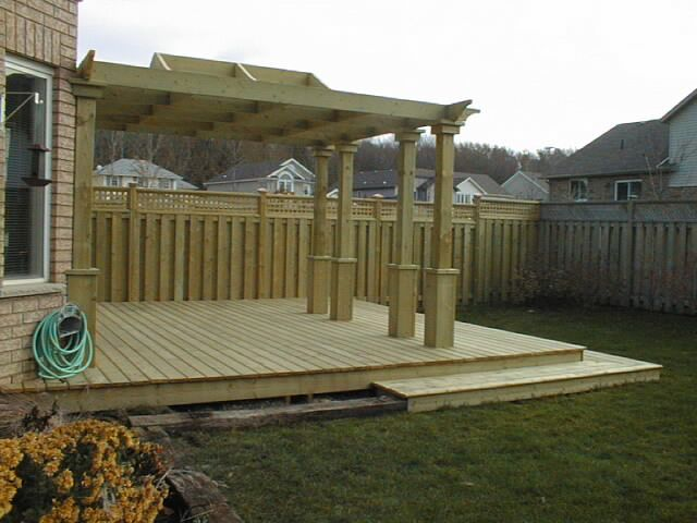 1000 images about pressure treated wood and cedar decks for Brown treated deck boards