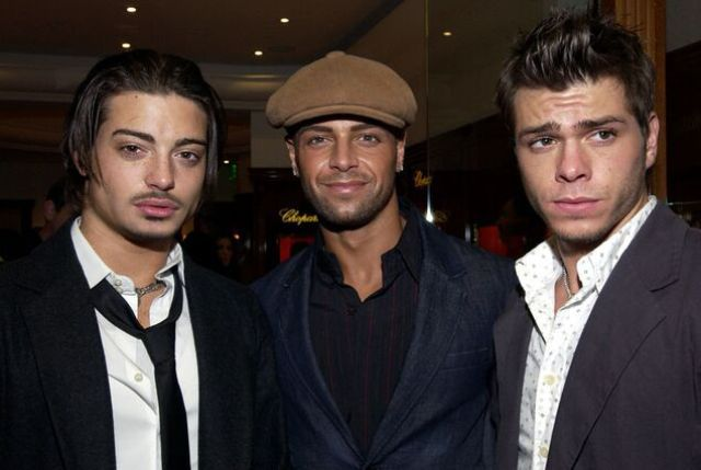 Andrew, Joey and Matthew Lawrence
